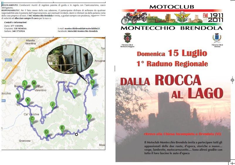 Dalla rocca al lago 2012 motoraduno brendola vicenza 15 for Veneta arredi alessandria orari