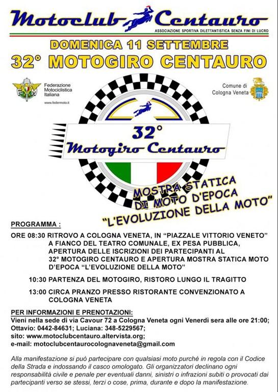 32 motogiro centauro 2016 motoraduno cologna veneta for Veneta arredi alessandria orari